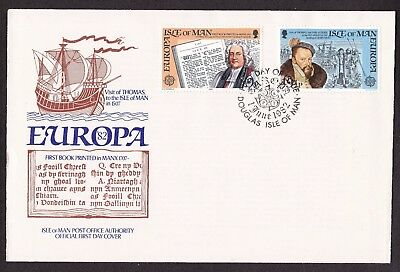 First Day Cover  Isle of Man. 1982 Europa
