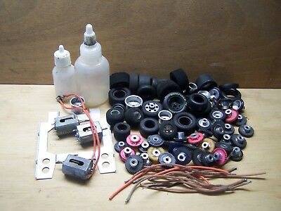 Slot Car Parts Lot.