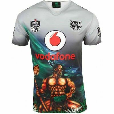 New Zealand Warriors NRL 2018 CCC Indigenous Jersey Adults & Kids Sizes!