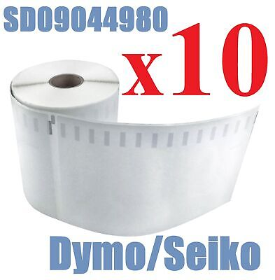 10x Compatible Dymo Extra Large Shipping Labels SD0904980 220 per roll 104x159mm