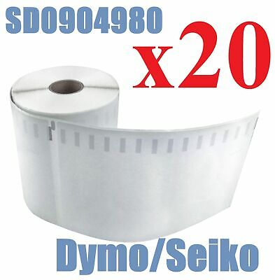 20 Compatible Dymo 4XL Extra Large Shipping Labels SD0904980 220 roll 104x159mm