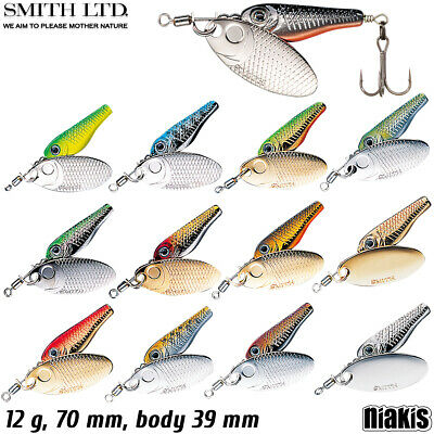 Smith Niakis 4 g various colors trout spinner