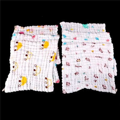 Soft Cotton Baby Infant Newborn Bath Towel Washcloth Feeding Wipe Cloth MW