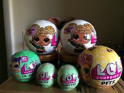 LOL Surprise Glitter Series Big Sisters New SEALED Ball Authentic L.O.L. Doll