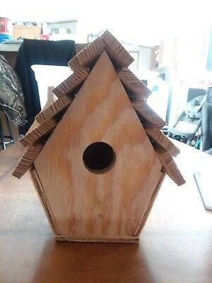 Hand-crafted Wooden Bird House