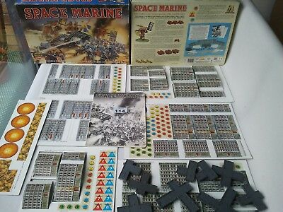 Warhammer Epic 40k 2nd Edition SPACE MARINE Boxed Game 1991 Games Workshop 40000