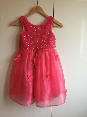 Pink Sequin Party Dress Next Age 7