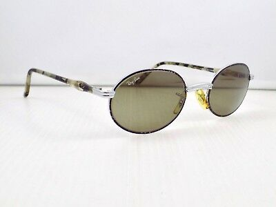 90's Ray Ban Sidestreet Rituals Amulet Oval B&L USA W2544 + Case