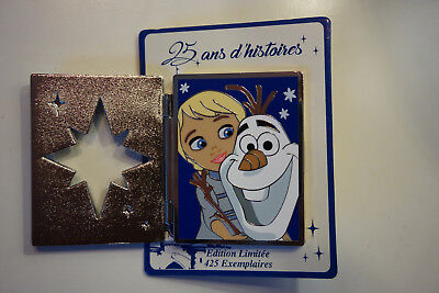 Pin trading event  disney 25 ans d'histoire Frozen