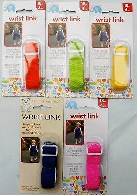 Childs Wrist Link Strap Safety Lead for Kids Baby/Toddler   Brand New FREE P&P