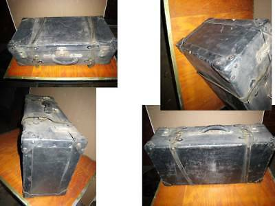 Lot Six Old Vintage STEAMER Trunk Antique Industrial Steampunk Local PU NY
