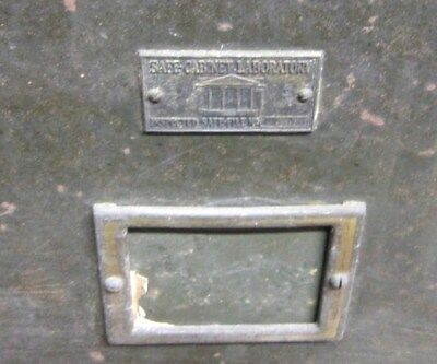 Vintage Safe T File Cabinet Heavy Duty Local PU NY