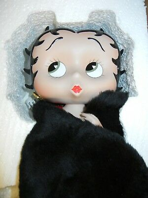 1999 Betty Boop Collectible Porcelain Doll New in Box