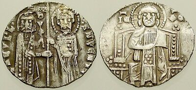 045. Unidentified Serbian Medieval Silver Coin