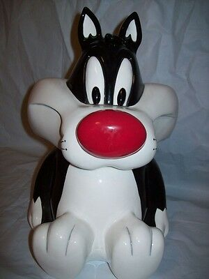 WB Looney Tunes Sylvester the Cat Cookie Jar Canister