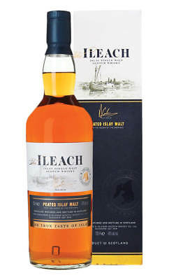 Ileach Peated Islay Single Malt Scotch Whisky 700ml(Boxed)