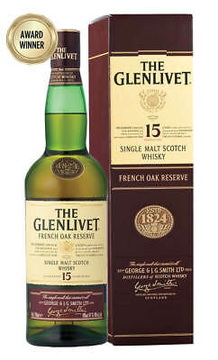 Glenlivet 15YO French Oak Scotch Whisky 700ml (Boxed)