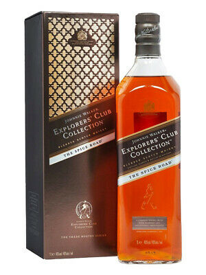 Johnnie Walker The Spice Road Explorers' Club Collection 1 Litre(Boxed)