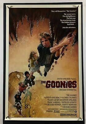 GOONIES Movie Poster (VeryFine) One Sheet 1985 Rolled Drew Struzman 6003
