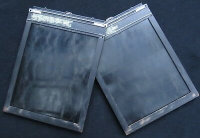 "Vintage 8"" x10"" Fidelity -  Wooden Film Holders (2)"