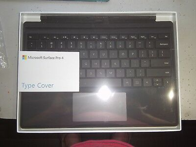 Microsoft Surface Pro 4 Type Cover Model 1725 Black -- Free Post