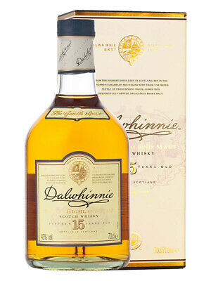 Dalwhinnie 15YO Single Malt Scotch Whisky 700ml(Boxed)