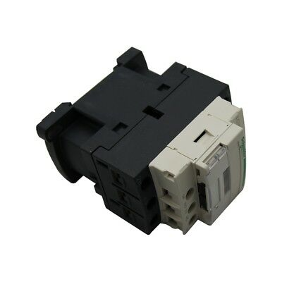 LC1D32B7 Contactor3-pole Auxiliary contacts NO + NC 24VAC 32A NO x3 SCHNEIDERS
