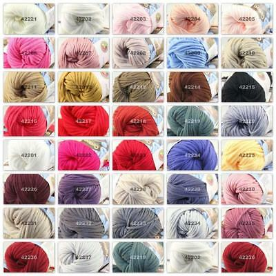 New 1Ball X 50g Colorful Thick Chunky DIY Worsted 100% Cotton HAND Knitting Yarn