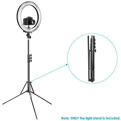 Neewer Photo Studio Adjustable 35-83 inches Aluminum Alloy Ring Light Stand