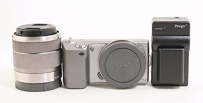 Sony Alpha Nex-5 Digital Camera w/18-55mm f.3.5-5.6 E Lens Kit; BL 412322