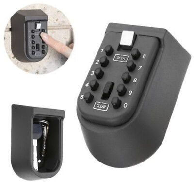 Home Combination Hide Key Safe Lock Box Storage Wall Mounted High Security Kit