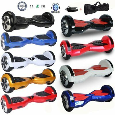 """6.5""""/8"""" Hoverboard Skate électrique Self Balancing Scooter Bluetooth LE"""