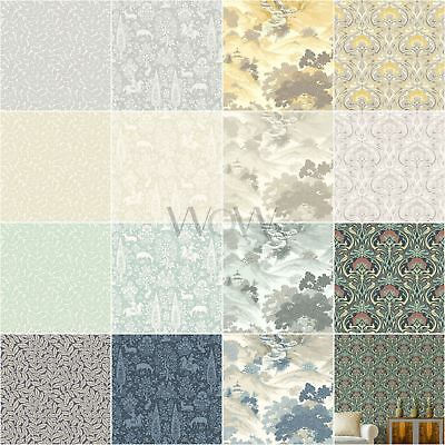 Crown Archives Wallpaper - Oriental Landscape, Flora Nouveau, Branch, Woodland