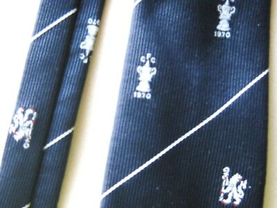 Neck Tie Chelsea Fc Original Official Institutional For The Fa Cup 1970 Corbata