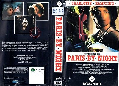 Paris by Night    Parigi di notte (1989)   VHS Domovideo   Charlotte Rampling