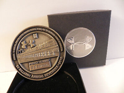 Under Armour Coin Special Limited Commemorative Edition Silver Medal 2013
