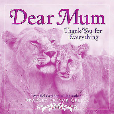 Dear Mum, Greive, Bradley Trevor, Very Good Book