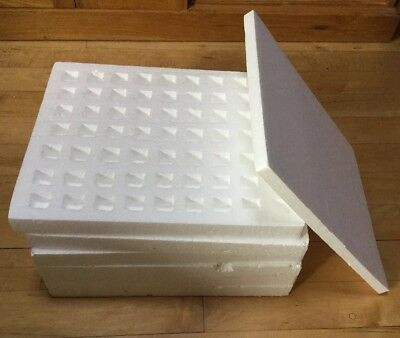 24 Packing Dispatch Storage Divided Polystyrene Trays Space For 1334 x 2.5cm