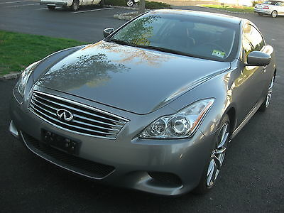 2009 Infiniti G37  G37S Sport Coupe  one  owner always dealer serviced like new pristine condition
