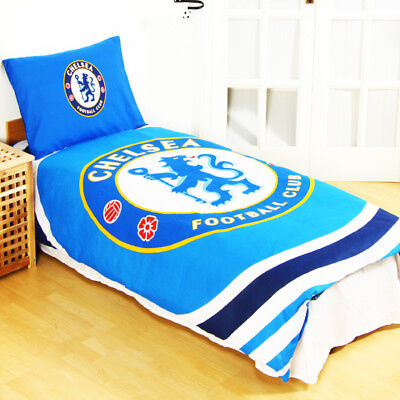 Chelsea Single Duvet Set Reversible Pulse Fan Gift Fun Official Licensed Product