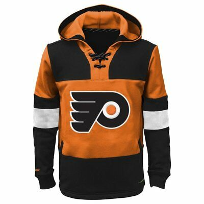 Reebok Youth Philadelphia Flyers PlayWarm Graphic Pullover Hoodie