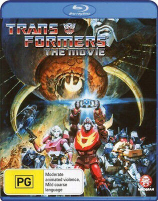 The Transformers: The Movie NEW Kids Family Blu-Ray Disc Nelson Shin Eric Idle