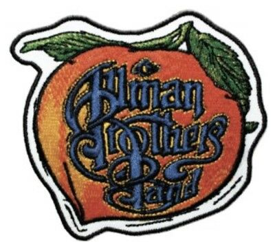 Allman Brothers Eat A Peach Embroidered Patch A015P Government Mule Skynrd