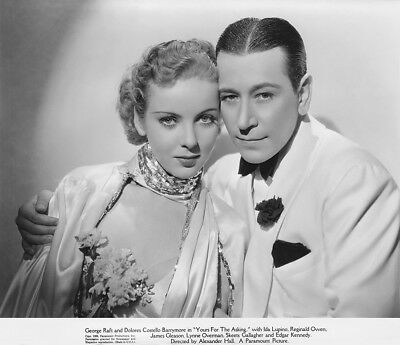 George Raft, Ida Lupino - Yours for the Asking (1936) - 8 1/2 X 11