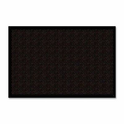"Genuine Joe Wiper/Scraper Mat, 3""x5"", Chocolate (GJO02403)"