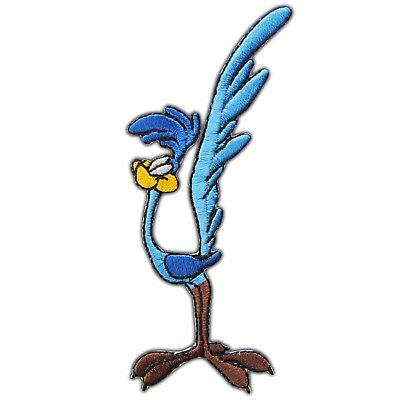 Bird Road Runner Beep Beep Classic Cartoon Racing Car Logo Iron-On Patche #CM066
