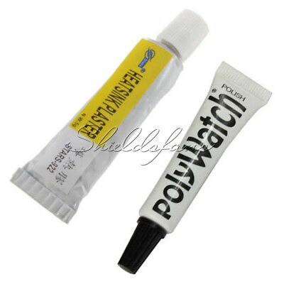 5g POLYWATCH Polish Remover Scratches of Watch Plastic / Acrylic Crystal Glass S