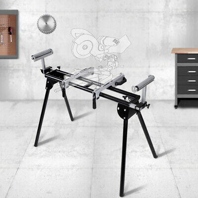 "Saw Horse Adjastable Mitre Saw Bench Stand Table With Extensions 200 cm (78"")"