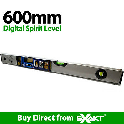 Exakt Tools 600mm Digital Spirit Level