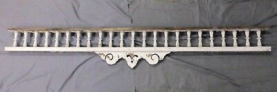 Lrg Antique Victorian Porch Gingerbread Spindle Span Architectural 94x15 618-17P